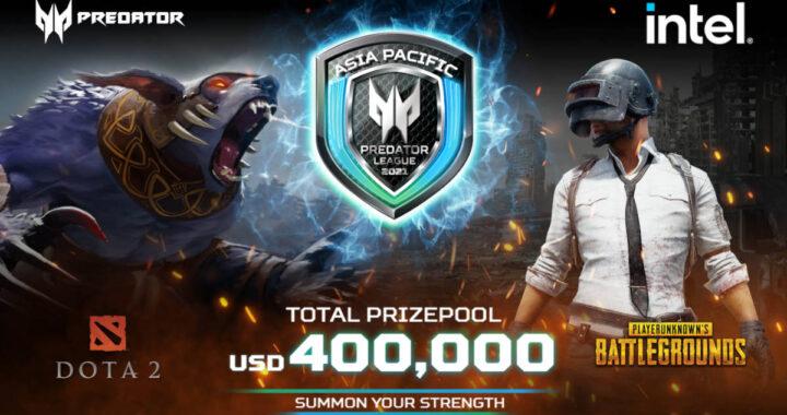 Asia Pacific Predator League 2020/21 poster